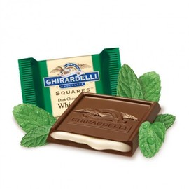 GHIRARDELLI - Dark & Mint SQUARES Chocolates