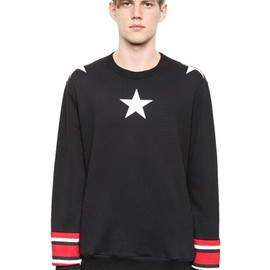 GIVENCHY - Cotton Fleece Columbian Fit Sweatshirt