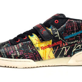 Reebok - WORKOUT MID STRAP 「JEAN MICHEL BASQUIAT」 「LIMITED EDITION」