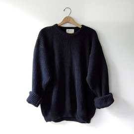 90s chunky knit sweater. loose knit pullover. oversized sweater.
