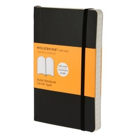Moleskine - Ruled Notebook Soft Cover Pocket