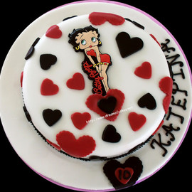 Dream of Cakes - Betty Boop Birthday Cake