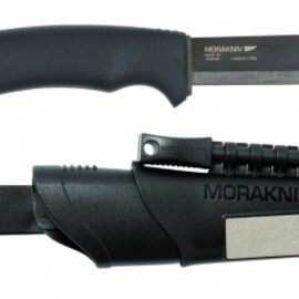 MORA - Bushcraft Survival Black