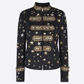 VALENTINO - Embroidered Rock-jacket