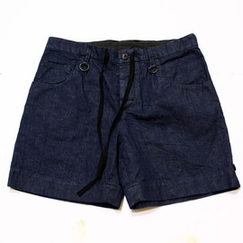 SUNSEA - 70's nep Denim bermuda