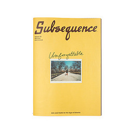 Cubism Inc. - Subsequence Magazine Volume 2 The Unforgettable Issue