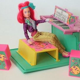 Hasbro - Vintage New Wave JEM Doll