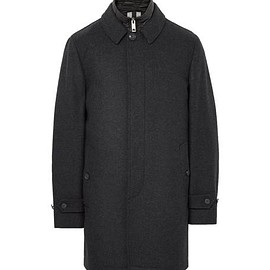 Burberry - Wool and Cashmere-Blend Coat with Detachable Shell Gilet