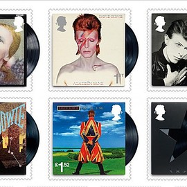 Royal Mail - David Bowie 10 Special Stamps