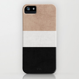 Her Art - classic - natural, cream and black iPhone & iPod Case