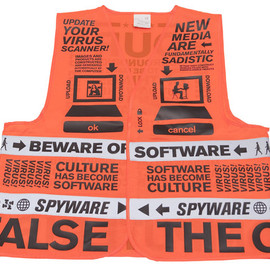 droog - Beware of software vest Designed by Mieke Garritzen & Geert Lovink