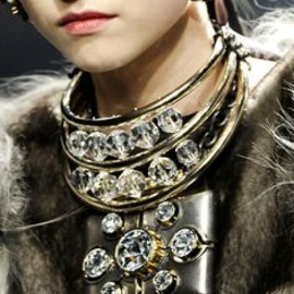 Lanvin - bijoux necklace