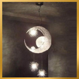 Moon & Star Lamp