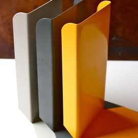 BOOK/SHOP - STEEL BOOKENDS