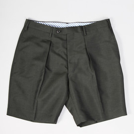 The FRANKLIN TAILORED - WOOL MOHAIR SHORTS