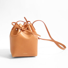 Mansur Gavriel - Mini Bucket Bag - Camello/Rosa