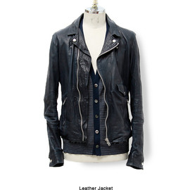 UNDERCOVER - Leather jacket