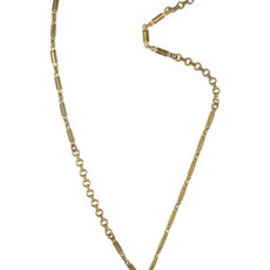Lulu Frost  - Plaza bronze number necklace