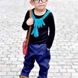Little Fashionista - Early swagger