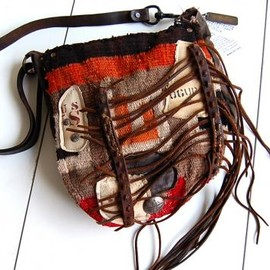 J.AUGUR DESIGN - Navaho Fringe Shoulder Bag