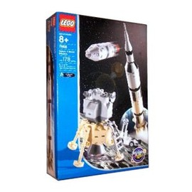 Lego, NASA - LEGO Space Discovery: Saturn V Moon Mission [Set: 7468]