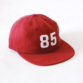 Raised By Wolves - '85 Vintage Corduroy 6 Panel Red