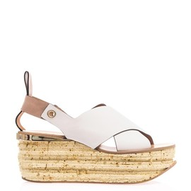 CHLOÉ - Tucson wedge sandals