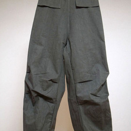 tuki - military baggy trousers reverse