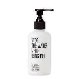 Stop The Water While Using Me! - Sesame sage body lotion 200ml