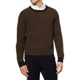 Gant Rugger - Gant Rugger Striped Chunky Knit Wool Sweater