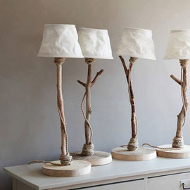 DutchDilight - Table lamp from driftwood