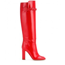 VALENTINO - FW2014 To Be Cool patent leather boots