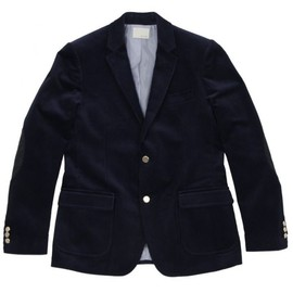 Band of Outsiders - corduroy blazer two-buttons navy