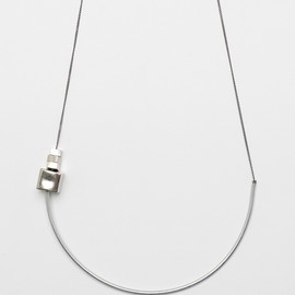 Maslo Jewelry - CHESTER SILVERPOT NECKLACE