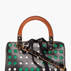 MARNI EDITION - Black Perforated Tote