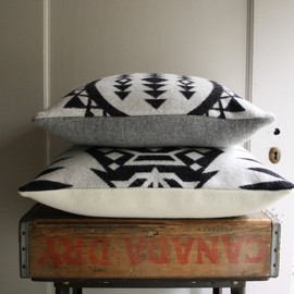 handmade pendleton wool pillow cover