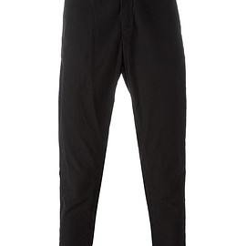 Blue Blue Japan - tapered cropped trousers