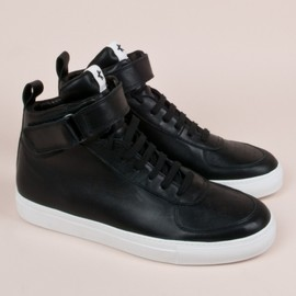 ADAM KIMMEL - leather hi-top sneaker