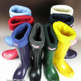 HUNTER - Wellington boots & Sox *original tall classic & welly warmers