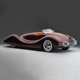 Buick - 1948 Buick Streamliner by Norman E. Timbs