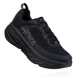 HOKA ONE ONE - BONDI 6 BLACK/BLACK
