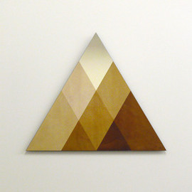 David Derksen - TRANSIENCE MIRROR SMALL - TRIANGLE