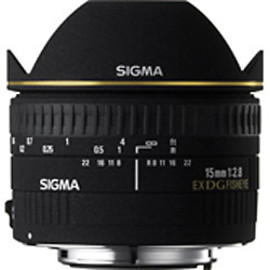 SIGMA - 15mm F2.8 EX DG DIAGONAL FISHEYE