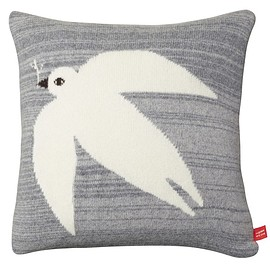 donna wilson - Dove Cushion - Grey