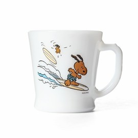 Fire King - SURF'S UP PEANUTS FIRE-KING D-HANDLE MUG