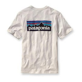 Patagonia - Men's P-6 Logo T-Shirt in White (52053-WHI)
