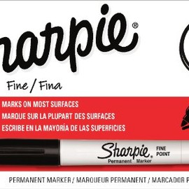 Sharpie - fine black