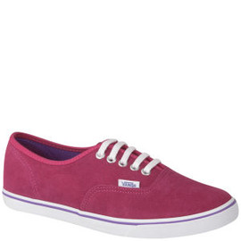VANS - Authentic Lo Pro Suede Trainers - Bright Rose
