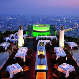 Bangkok   - Sirocco Restaurant at State Tower