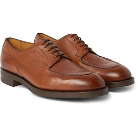 Edward Green - Dover Grained-Leather Derby Shoes